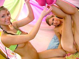 Yasmin and Megan having sex