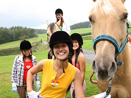 Lesbian riding school