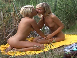 2 gorgeous blondes go fishing but ending up having sex