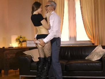 Ripped panties and tights!