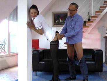 Sexy nurse Felicia!