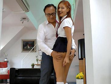Aylin Sexy Schoolgirl!