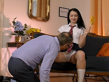 Kittina Pleases Her Boss!