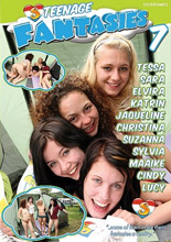 dvd cover Teenage Fantasies