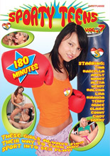 dvd cover Sporty Teens