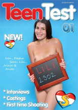 dvd cover Teen Test