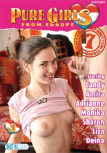 dvd cover Pure Girls from Europe