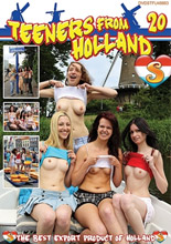 dvd cover Teeners from Holland