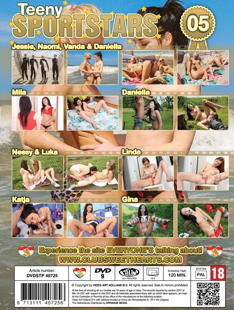 DVD Teeny Sportstars