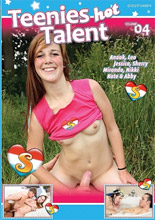 dvd cover Teenies Hot Talent