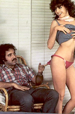 Pornstar Ron Jeremy in the 70's
