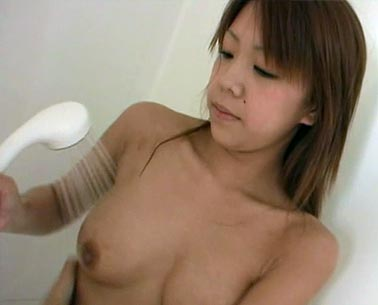Sexy Hirasawa Miki naked in shower