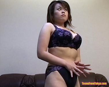 Big Tokyo tits in sexy lingerie